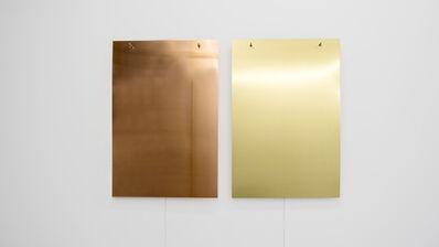 Finnbogi Pétursson, 'Relatives Copper-Brass', 2019