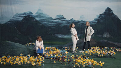 Ragnar Kjartansson, 'Figures in Landscape (Sunday)', 2018