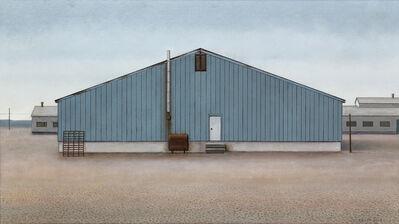 Christopher Pratt, 'A Building at Buchans (Copper, Zinc, Lead; Silver and Gold)', 2016