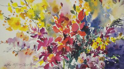 David Fu-Ji Tsang, 'Untitled (Flowers)', End of 20th century-Early 21th century