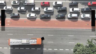 Christoph Niemann, 'Traffic Pong', 2019