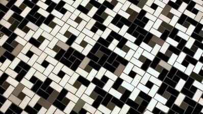 Noah Klersfeld, 'Percussive Lights with Bathroom Floor #3', 2014