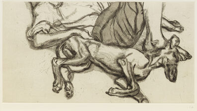 Lucian Freud, 'Pluto', 1988
