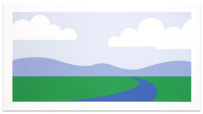 Julian Opie, 'Landscape', 1995