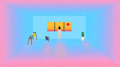 Wong Ping 黃炳, 'Stop peeping', 2014