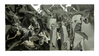 Hubertus Hamm, 'Molded Mirror 2017, No. 7 (black)', 2017