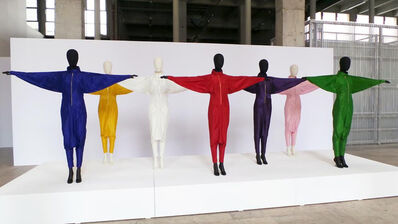 Marina Abramović, 'Energy Clothes.  Energy clothes are the simplest and most lucid expression of the theme of energy I have ever presented.  Magnets, colors, and the body sites transpire as conductors of light, lucidity, and energy.'