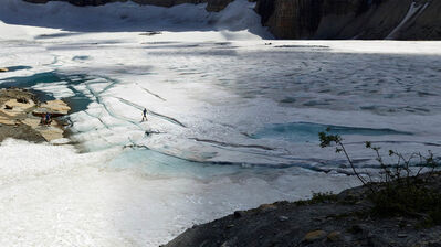 Ian van Coller, 'Walking on Grinnell Glacier', 2013