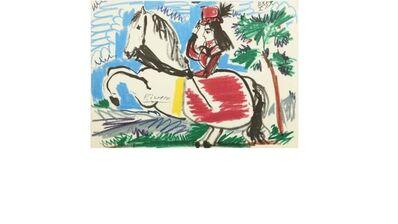 Pablo Picasso, 'Toros y Toreros', 1959