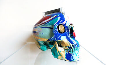 Damien Hirst, 'The Hours Spin Skull', 2008