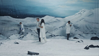 Ragnar Kjartansson, 'Figures in Landscape (Saturday)', 2018