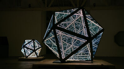 Anthony James, '70'' Dodecahedron', 2019