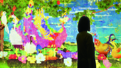 teamLab, 'United, Fragmented, Repeated and Impermanent World'