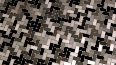 Noah Klersfeld, 'Percussive Lights with Bathroom Floor #7', 2014
