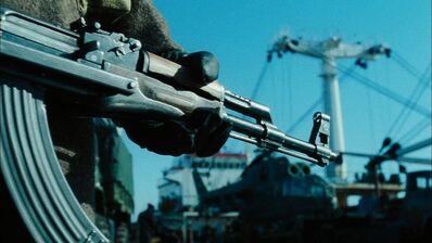 The Propeller Group, 'AK-47 vs. M16, The Film', 2016