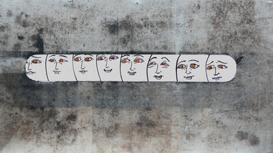 Kuo Ya-Chieh 郭雅倢, 'Detached peeping 對話難以進行', 2019