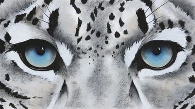 Rose Corcoran, 'Small Snow Leopard Eyes', 2020