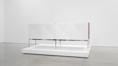 "Antoine Philippon and Jacqueline Lecoq, '""Pointe de Diamant"" Mahogany Sideboard', 1960-1969"