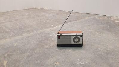 Wilfredo Prieto, 'Radio and Brick', 2015