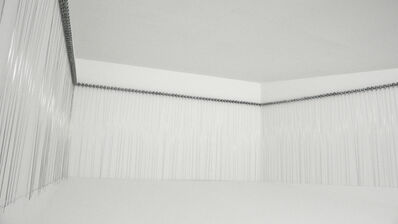 Zimoun, '216 prepared dc-motors, filler wire 1.0mm', 2009-2010