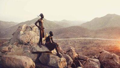 Jimmy Nelson, 'IV 476 - Epupa falls Namibia', 2014