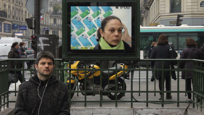 Pierre Derks, 'Screening Reality / Metro', 2013