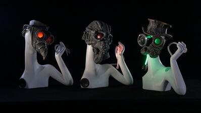 Guzzetti Ale, 'Dies Irae Gregorian robotic Chair', 2011-2012