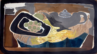 Georges Braque, 'Teapot and Grapes | Théière et Raisin', ca. 1950