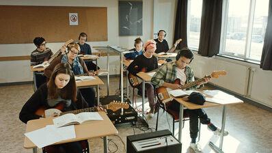 Ragnar Kjartansson, 'Scenes from Western Culture, Guitar Lesson (Ólafía Hrönn Jónsdóttir, Logi Pedro Stefánsson)', 2015