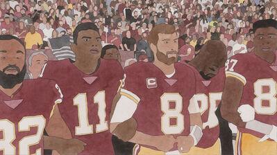 Kota Ezawa, 'National Anthem (Washington Redskins)', 2019
