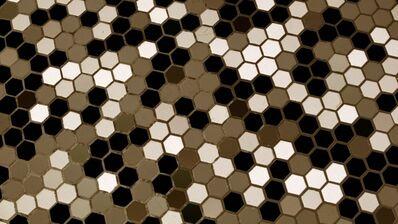 Noah Klersfeld, 'Percussive Lights with Bathroom Floor #9', 2014