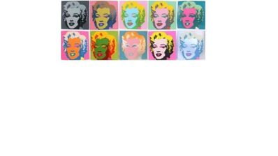 Andy Warhol, 'Warhol's Marilyn - 10 Silkscreens', 1970