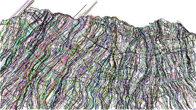 Michel Huelin, 'Datalandscape 6'