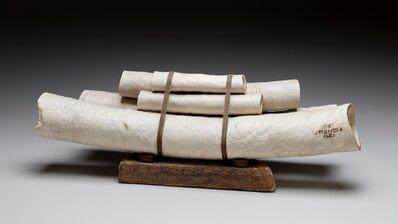 Christian Burchard, 'Five Scrolls'