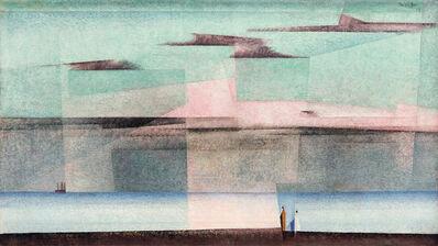 Lyonel Feininger, 'Pink Cloud II', 1928