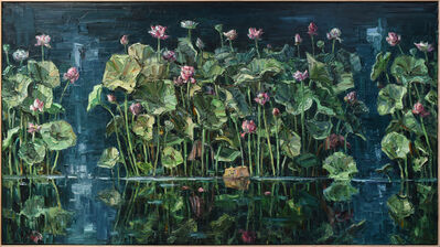 Jun Chen (b. 1960), 'Lilies II', 2020