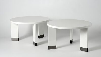 Jacques Quinet, 'Pair of Side Tables', ca. 1950