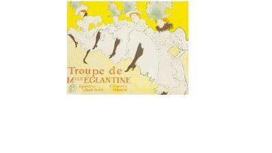 Henri de Toulouse-Lautrec, 'Troupe de Mlle Eglantine', 1896