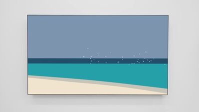 Julian Opie, 'Beach Terms', 2018