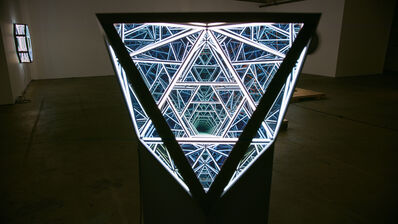 Anthony James, '24'' Octahedron', 2019