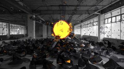 Jorge Luis Linares, 'Explosión 04', 2018
