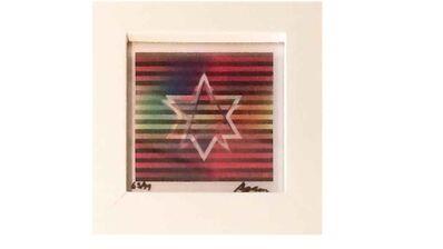 Yaacov Agam, 'Star of David', 2000