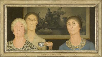 Grant Wood, 'Daughters of Revolution', 1932