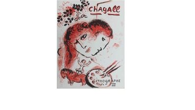 Marc Chagall, 'Lithographe III', 1969