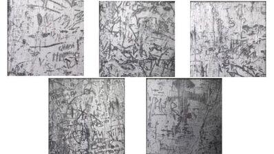 Sterling Ruby, 'Carvings 1-5', 2006