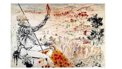 """Salvador Dalí, 'Original Lithograph """"Don Quixote V"""" by Salvador Dali', 1957"""