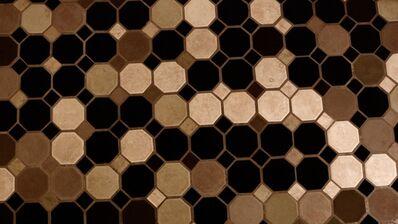 Noah Klersfeld, 'Percussive Lights with Bathroom Floor #8', 2014