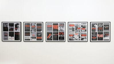 Antoni Muntadas, 'Fear, Panic, Terror', 2010