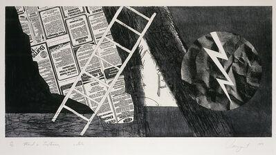 James Rosenquist, 'Wind & Lightning (State II)', 1978