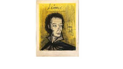 Bernard Buffet, 'Laennec', 1965